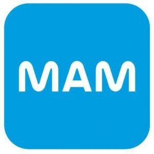 tire-lait Mam logo