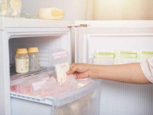 Conserver son lait maternel au congélateur