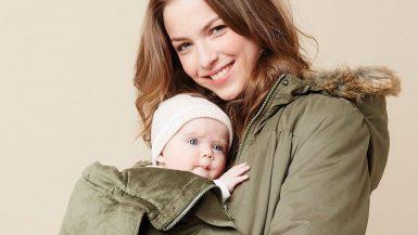 Manteau porte-bébé