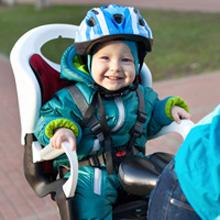 Porte-bébé vélo